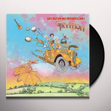 GET OUT OF MY FATHER'S CAR Vinyl Record
