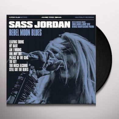 Sass Jordan REBEL MOON BLUES Vinyl Record