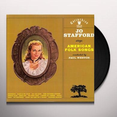 Jo Stafford SINGS AMERICAN FOLK SONGS Vinyl Record