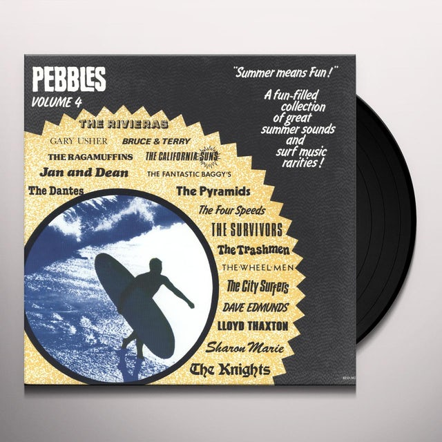 Pebbles 4 / Various Vinyl Record