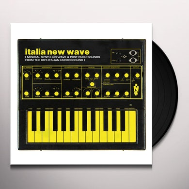 ITALIA NEW WAVE / VARIOUS Vinyl Record
