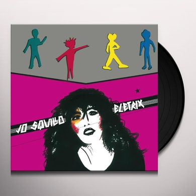 SQUILLO JO ELETRIX GIRL SENZA PAURA Vinyl Record