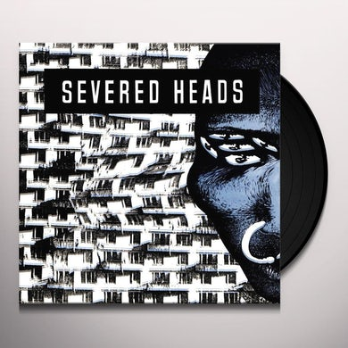 Severed Heads STRETCHER Vinyl Record