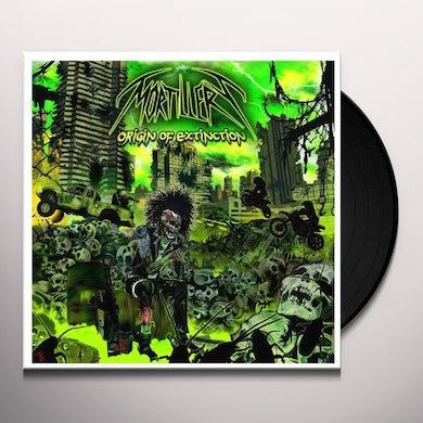 Mortillery ORIGIN OF EXTINCTION (GER) Vinyl Record