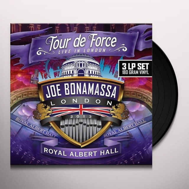 Joe Bonamassa TOUR DE FORCE-ROYAL ALBERT HALL Vinyl Record