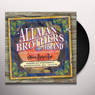 The Allman Brothers Band  American university 12-13-70 Vinyl Record