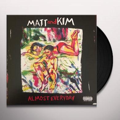 ALMOST EVERYDAY (LP)(Red) Vinyl Record