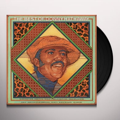 BEST OF DONNY HATHAWAY Vinyl Record