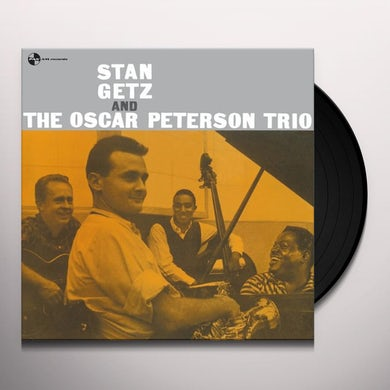 STAN GETZ & OSCAR PETERSON TRIO Vinyl Record