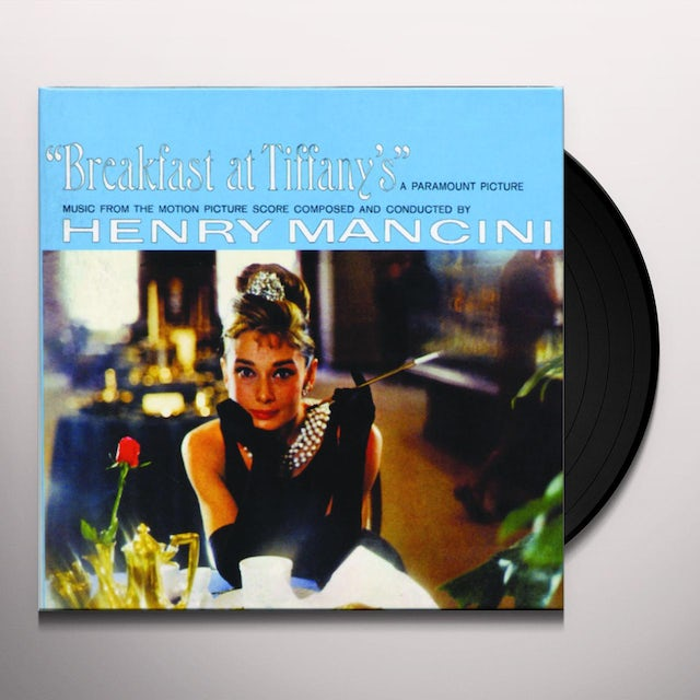 Henry Mancini BREAKFAST AT TIFFANY'S Vinyl Record - 180 Gram Pressing, Remastered