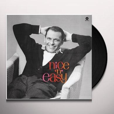 Frank Sinatra NICE 'N' EASY Vinyl Record - Spain Release
