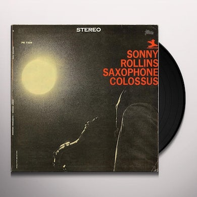 Sonny Rollins SAXOPHONE COLOSSUS Vinyl Record - 180 Gram Pressing