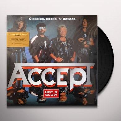 Accept HOT & SLOW: CLASSICS ROCK N BALLADS Vinyl Record