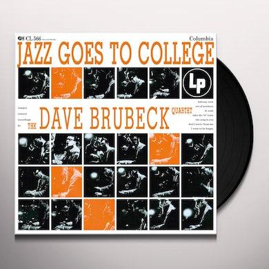 Dave Quartet Brubeck JAZZ GOES TO COLLEGE Vinyl Record