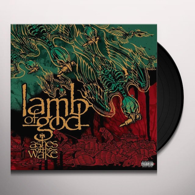 Lamb Of God ASHES OF THE WAKE Vinyl Record