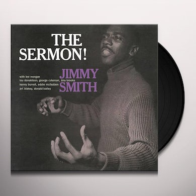 Jimmy Smith SERMON Vinyl Record