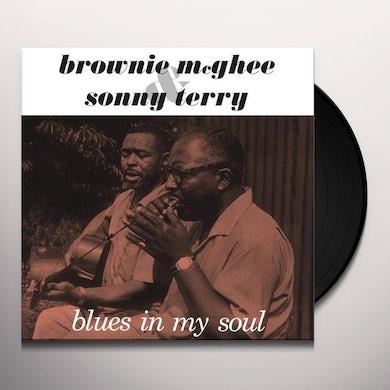 Sonny Terry / Brownie McGhee  BLUES IN MY SOUL Vinyl Record