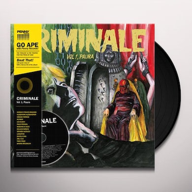 CRIMINALE VOL. 1 - PAURA / VAR CRIMINALE VOL. 1 - PAURA Vinyl Record