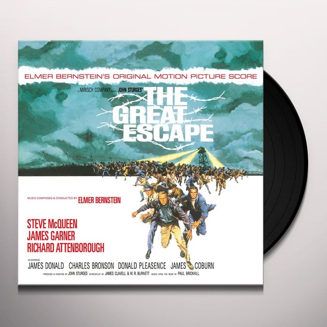 Elmer Bernstein GREAT ESCAPE / Original Soundtrack Vinyl Record