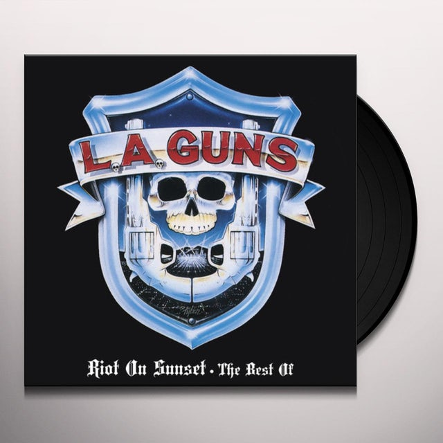 LA Guns RIOT ON SUNSET - THE BEST OF Vinyl Record