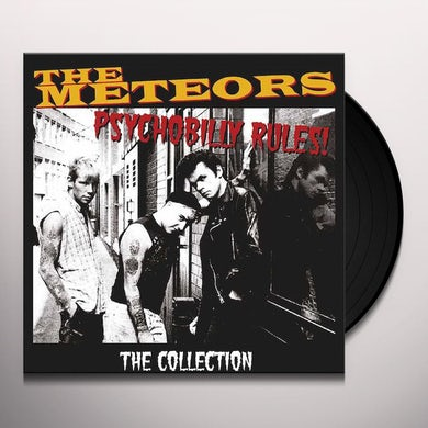 The Meteors PSYCHOBILLY RULES! THE COLLECTION Vinyl Record