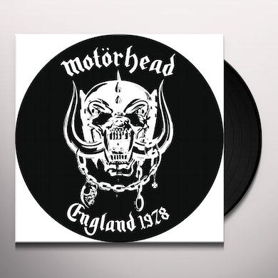 Motorhead England 1978   Picture Disc Vinyl Vinyl Record