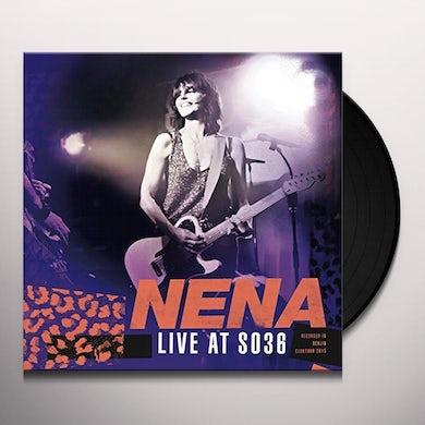 Nena LIVE AT SO36 Vinyl Record