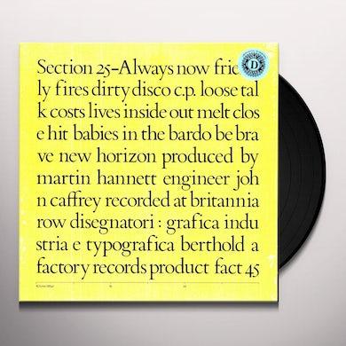 Section 25 ALWAYS NOW (LTD) (OGV) (Vinyl)