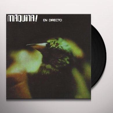 Maquina EN DIRECTO Vinyl Record