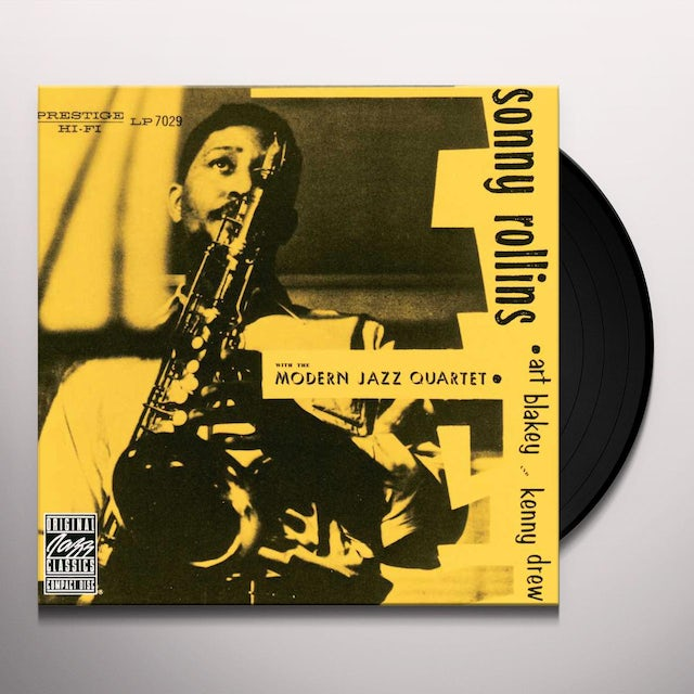Sonny / Modern Jazz Quartet Rollins SONNY ROLLINS WITH THE MODERN JAZZ QUARTET Vinyl Record