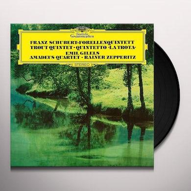 Gilels / Amadeus Quartet PIANO QUINTET IN A D.667: THE TROUT / STRING QUART Vinyl Record