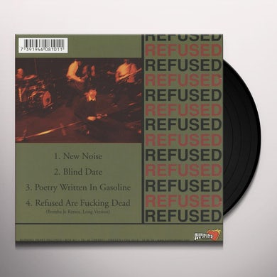 Refused NEW NOISE THEOLOGY Vinyl Record