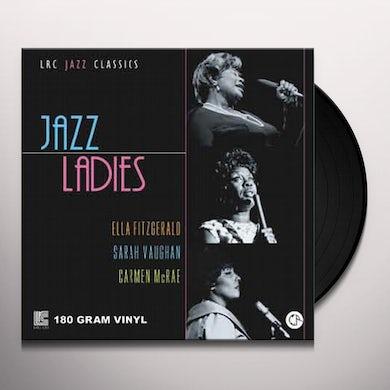 Ella Fitzgerald, Sarah Vaughan, Carmen Mcrae JAZZ LADIES Vinyl Record - 180 Gram Pressing