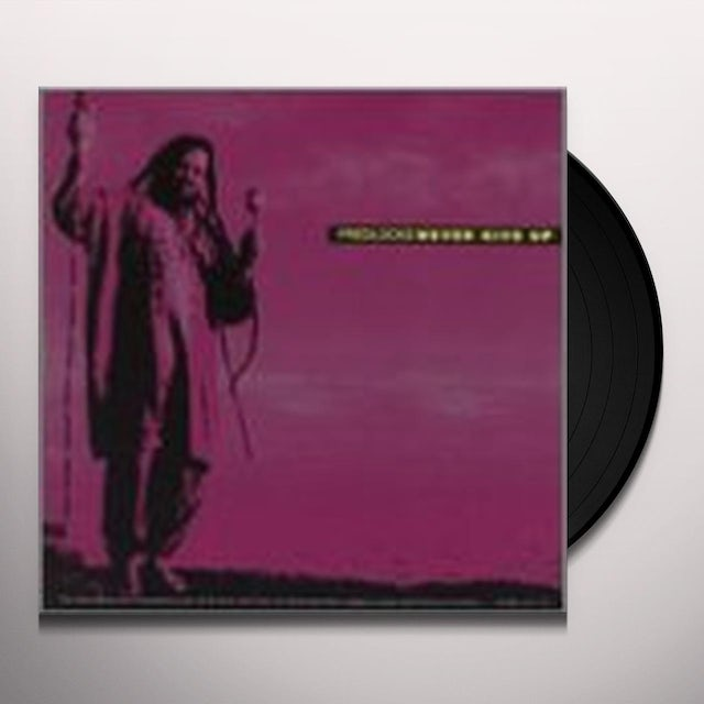 Fred Locks NEVER GIVE UP Vinyl Record