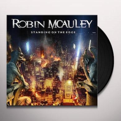 Robin McAuley Standing On The Edge Vinyl Record