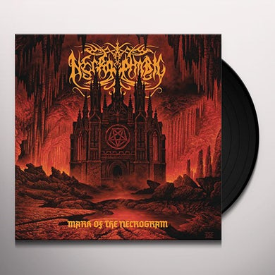 Necrophobic MARK OF THE NECROGRAM Vinyl Record