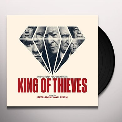 Benjamin Wallfisch KING OF THIEVES / Original Soundtrack Vinyl Record