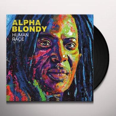 Alpha Blondy HUMAN RACE Vinyl Record
