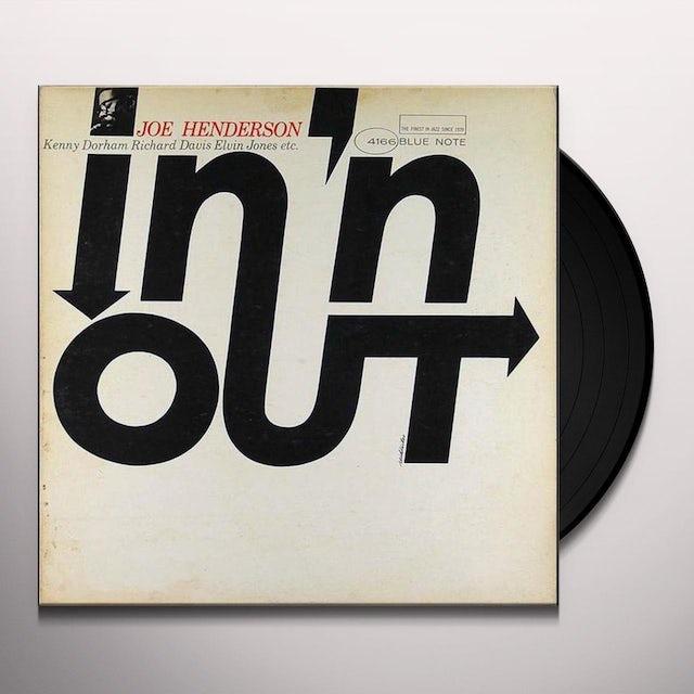 Joe Henderson IN N OUT Vinyl Record - 180 Gram Pressing, Reissue