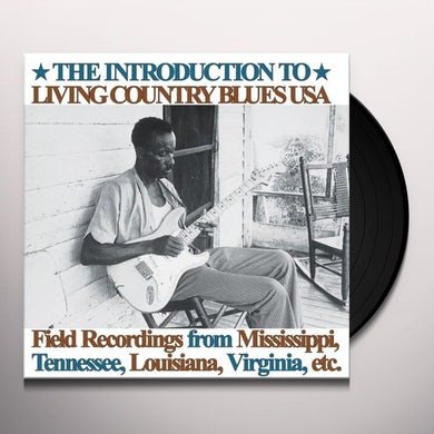 Introduction To Living Country Blues Usa / Various Vinyl Record