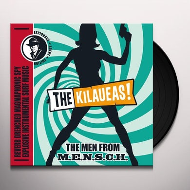 Kilaueas MEN FROM M.E.N.S.C.H. Vinyl Record