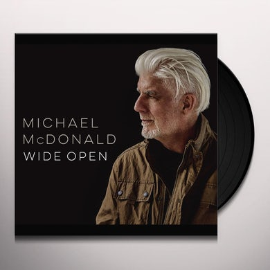 Michael McDonald WIDE OPEN Vinyl Record