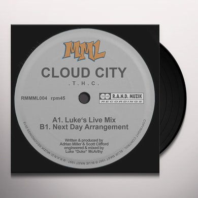 Cloud City THC Vinyl Record