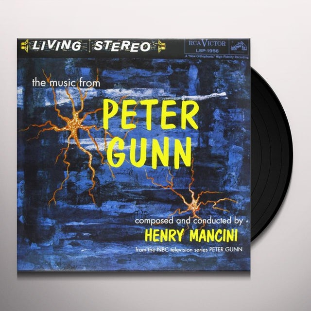 Henry  Mancini MUSIC FROM PETER GUNN (Original Soundtrack ) Vinyl Record