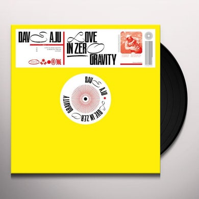 Dave Aju LOVE IN ZERO GRAVITY Vinyl Record