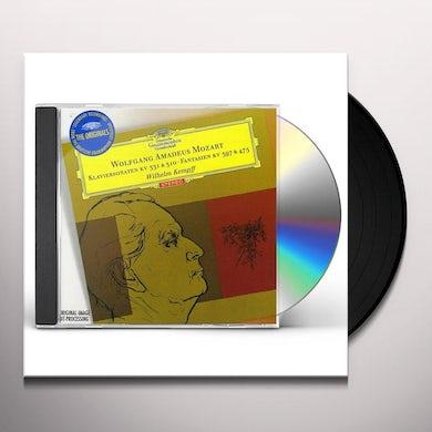 Wilhelm Kempff MOZART: KLAVIERSONATEN K331 CD