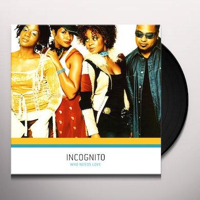 Incognito WHERE LOVE SHINES Vinyl Record