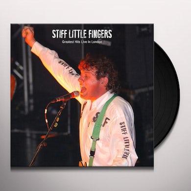 Stiff Little Fingers GREATEST HITS LIVE Vinyl Record