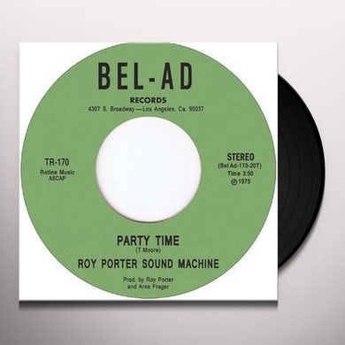 Roy Porter Sound Machine OUT ON THE TOWN TONITE Vinyl Record