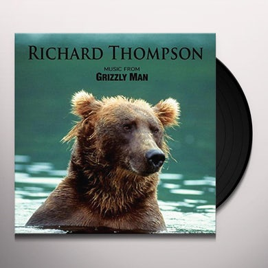 Richard Thompson MUSIC FROM GRIZZLY MAN Vinyl Record